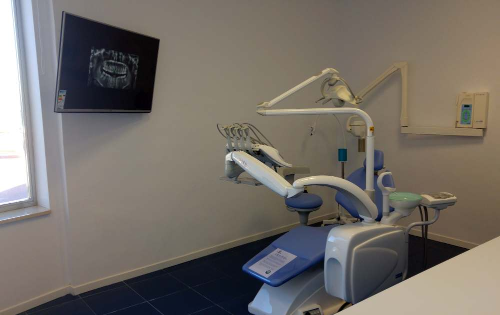 Gabinete de Campus Dental Badajoz.